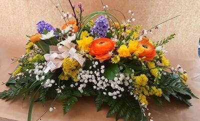 Centrotavola fiori misti 30 cm