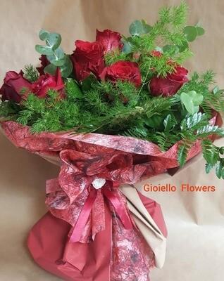 bouquet di 7 rose
