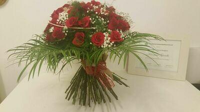 Bouquet di 12 rose