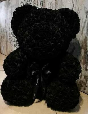 Teddy Flower 70 cm Nero