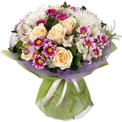 Bouquet toni rosa