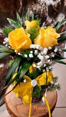 Composizione Alberello fiorito