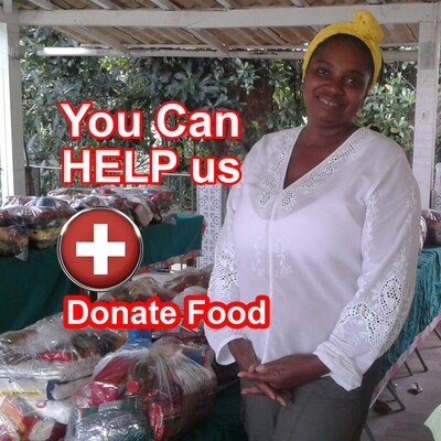 DONATE FOOD - YOU CAN HELP US