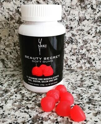 Beauty Secret Soft Gum Himbeer