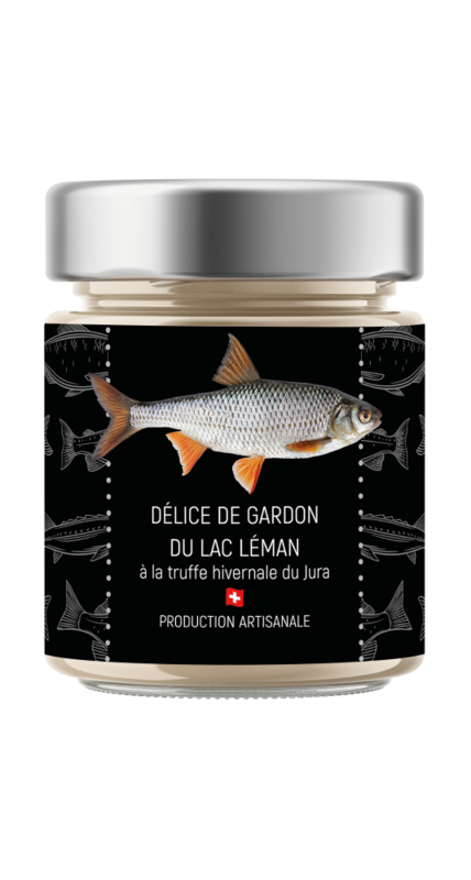 Délice de gardon à la Truffe du Jura vaudois (produit saisonnier)