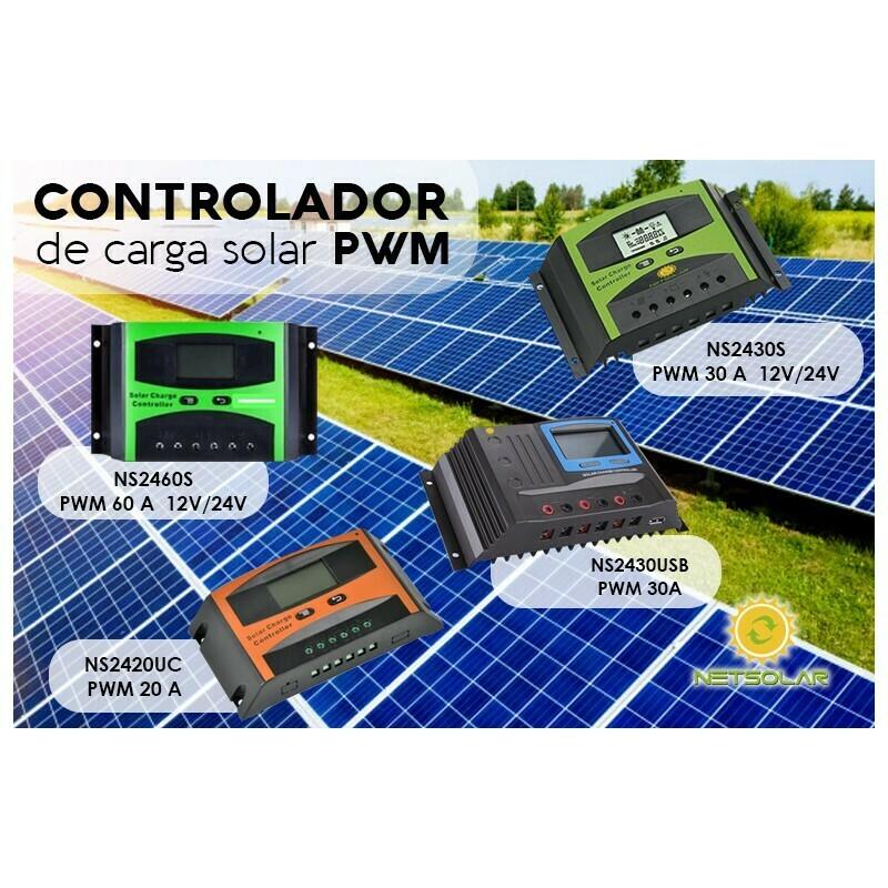 CONTROLADOR SOLAR 30 AMPERIOS