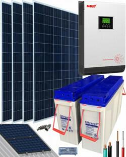 Kit Solar para Casa  con consumo de 6400Whdia