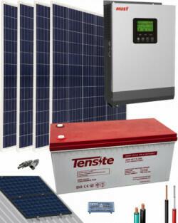Kit Solar Casa con consumo de 5000 Whdia