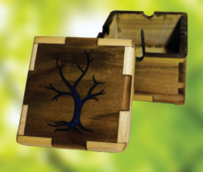 Epoxy-filled Tree Buzz Box