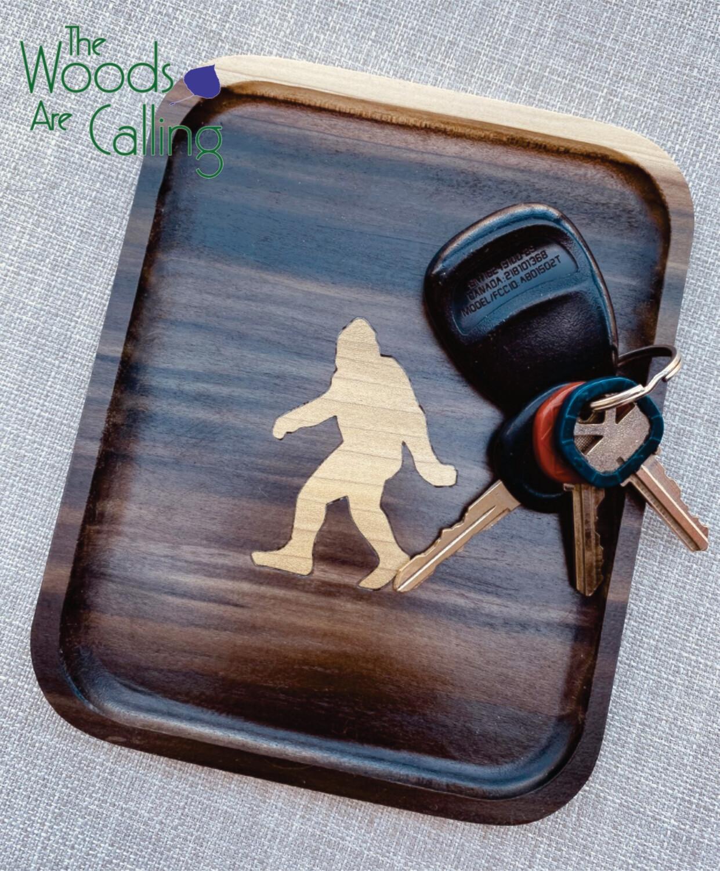 Tray: Bigfoot Inlay