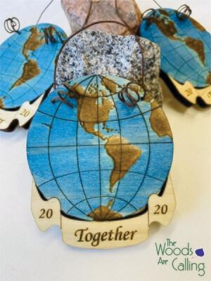 Together 2020 Globe Ornament