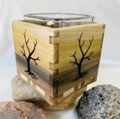 Naked Tree Candle