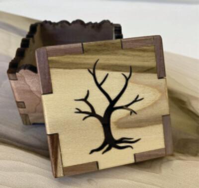 Naked Tree Treasure Box