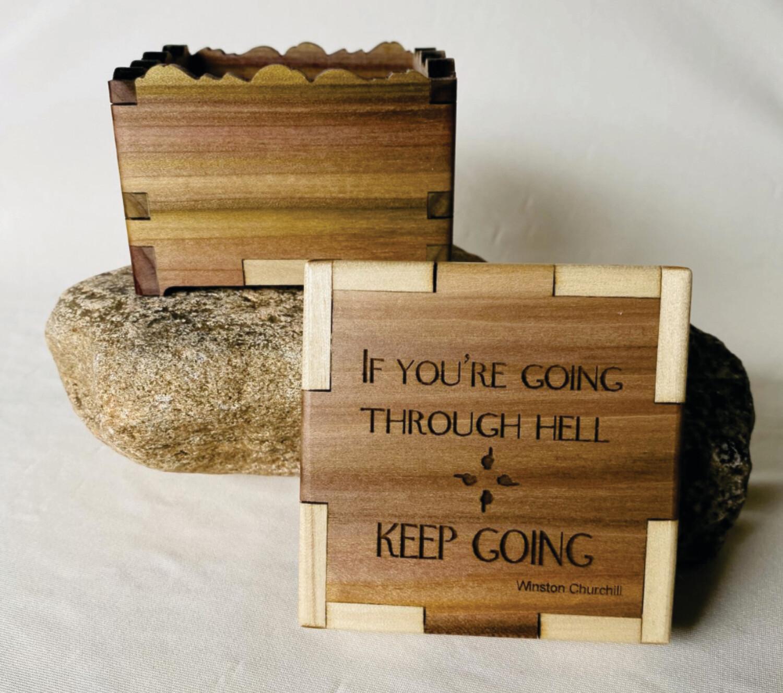 "Churchill ""Going Through Hell"" Box"