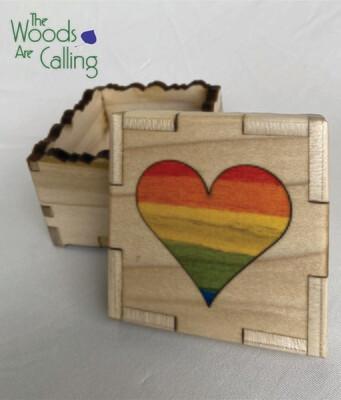 Big Heart In-lay Box