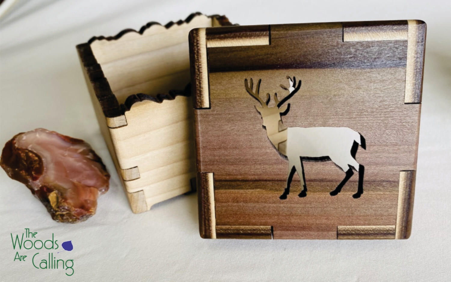 Deer Treasure Box