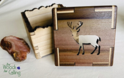Deer Treasure Box