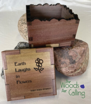 Earth Laughs in Flowers Quotable Box