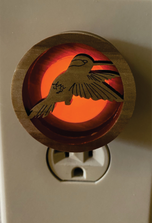 Hummingbird Glow Light
