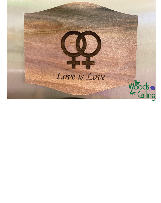 Lesbian symbol magnet