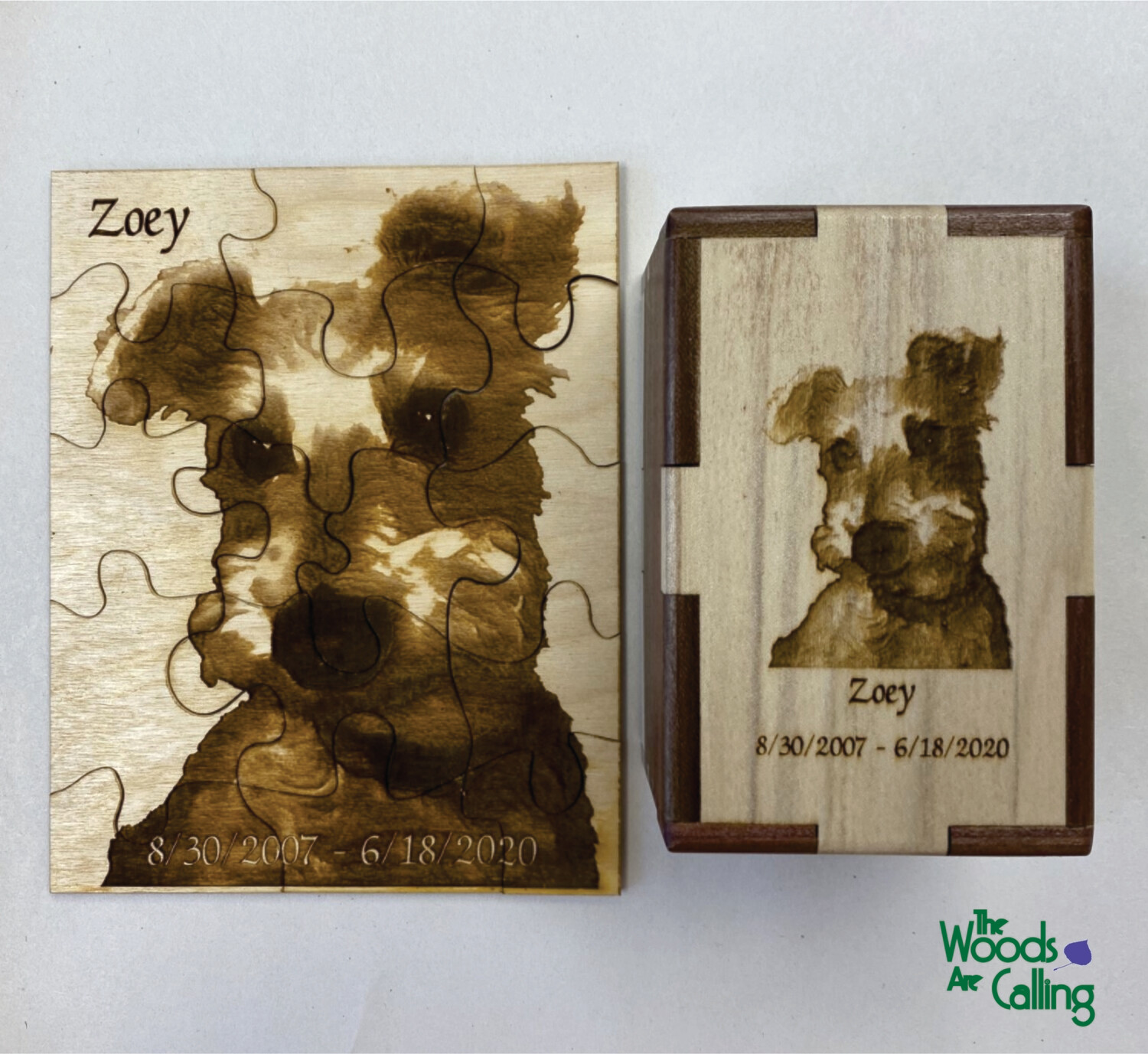 Puzzle with Box