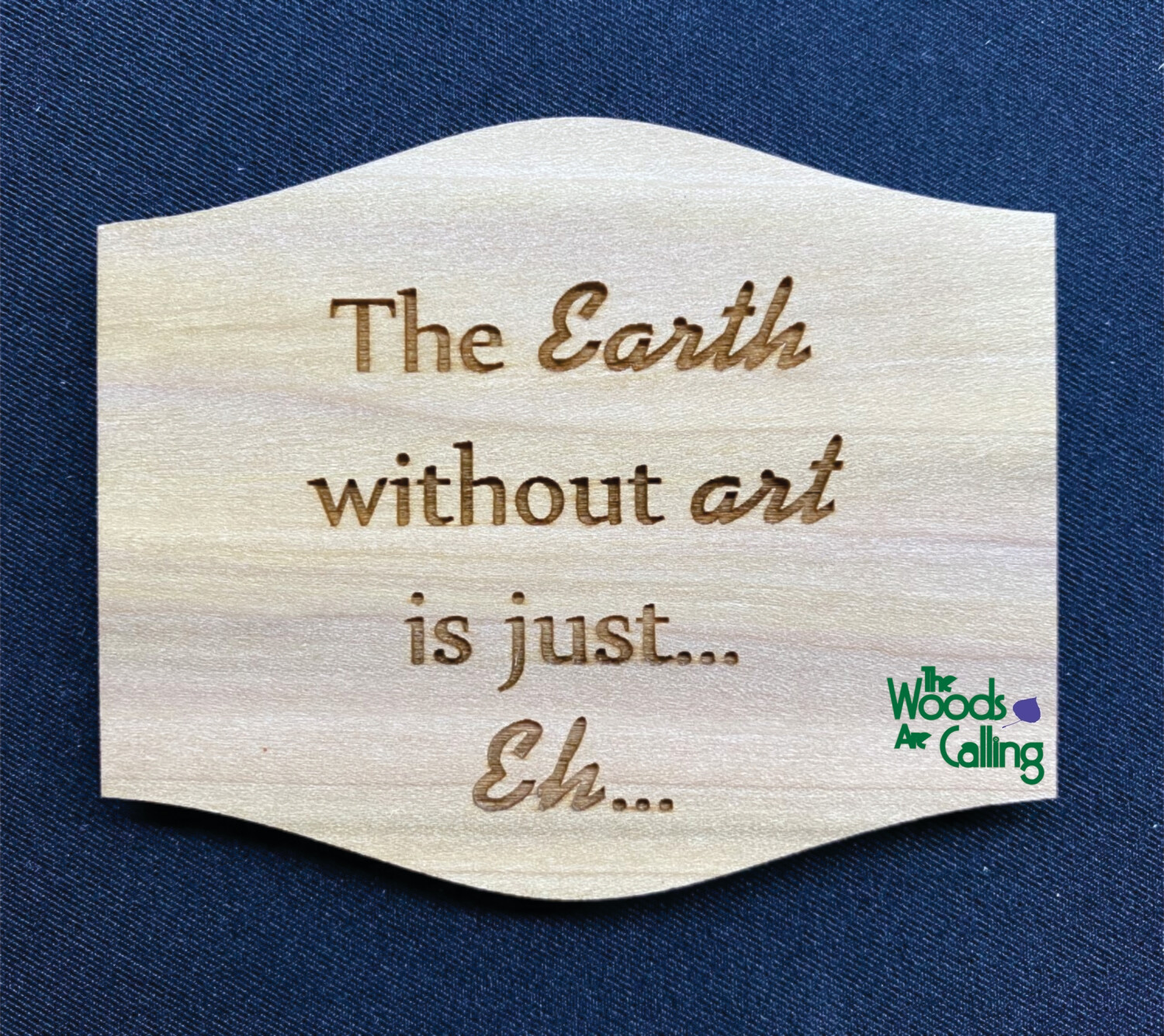 Earth without art Magnet