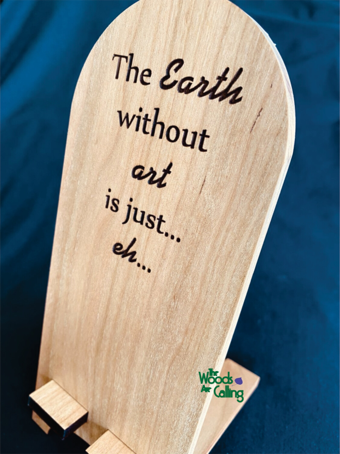 Earth without art Phone Stand