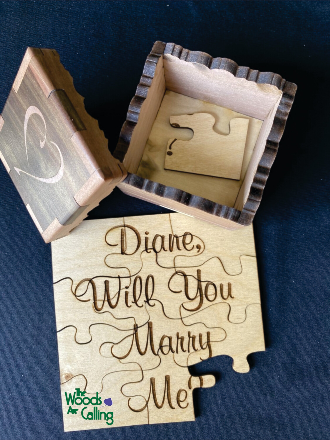 Will You Marry Me Puzzle Box