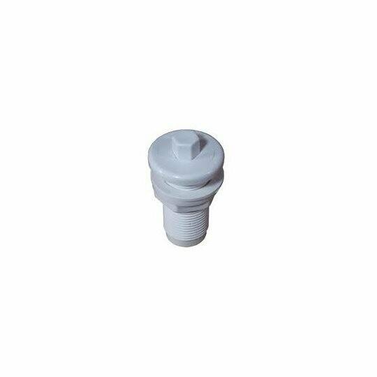 Air Button #4 White w/ Gasket