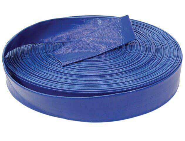 Pro Drain Hose Blue Poly Woven Fiber 2In