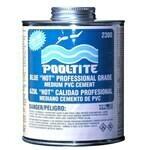 PVC Pool-Tite Blue Glue Qt Hot Med Bod