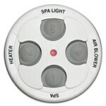 Spa Side Remote 4 Function 100Ft