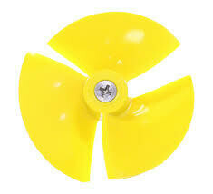 Impeller With Screw - Yellow