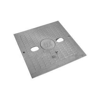 Square Lid W/Insert-Grey