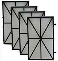 Spring Cartridge Filter Panel (4 Pack)