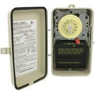 220V Timer In Metal Case