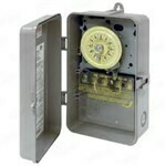 110V Timer In Plastic Case