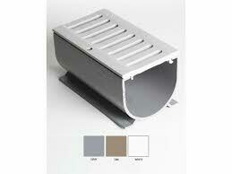 3 In Water Hog Deck Drain Tan 6Ft