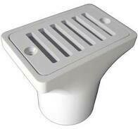 2Inx4In Deck/Gutter Drain 2Ins/Fpt Asy-W
