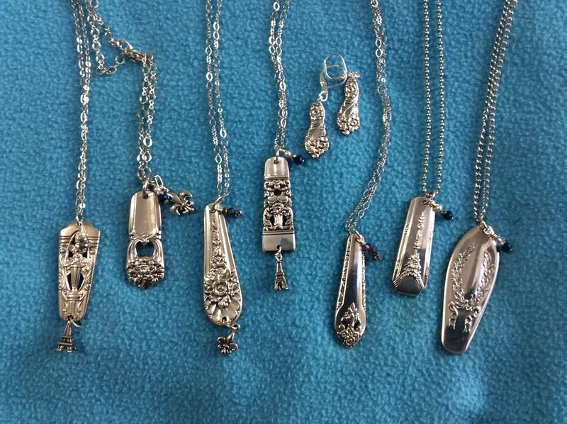 Vintage Spoon necklaces