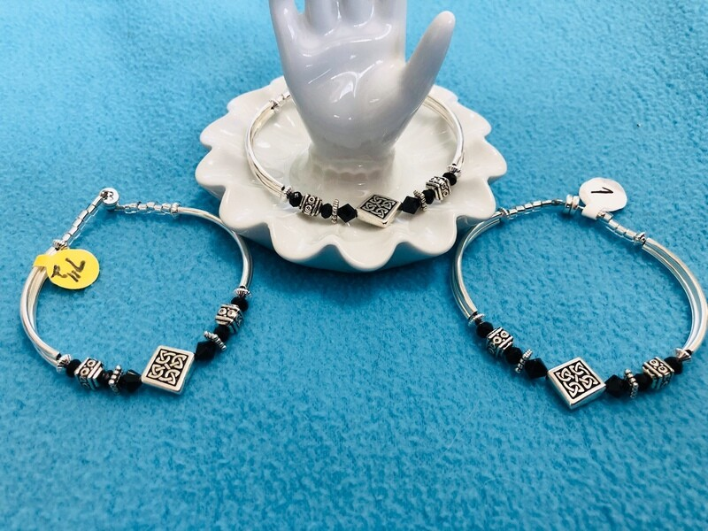 Celtic black bracelet