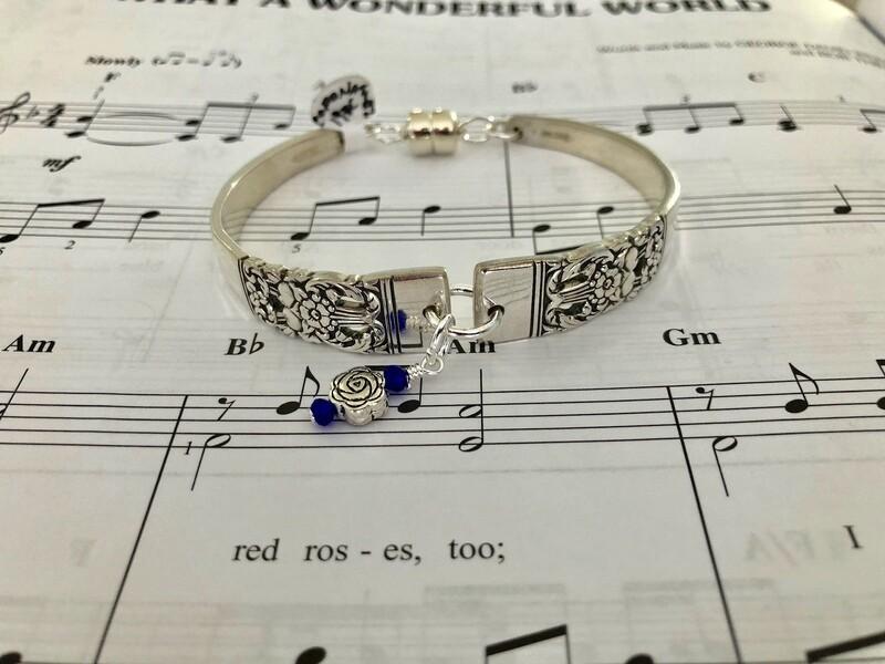 Coronation spoon bracelet