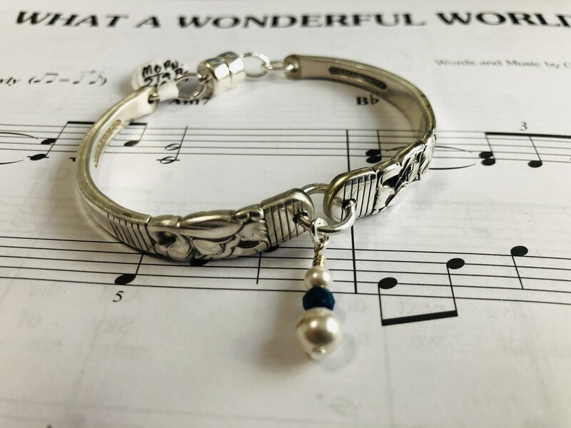 Morning star thin line spoon bracelet