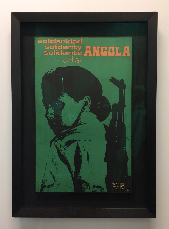 Vintage Angola Poster