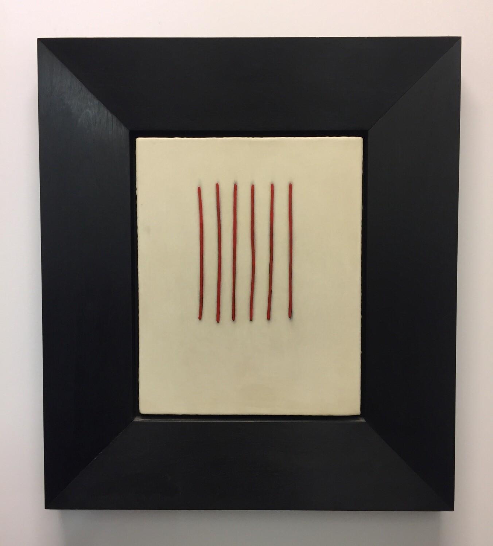 Six Red Stripes