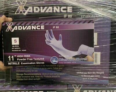 XAdvanced Nitrile Glove N85, 100pc