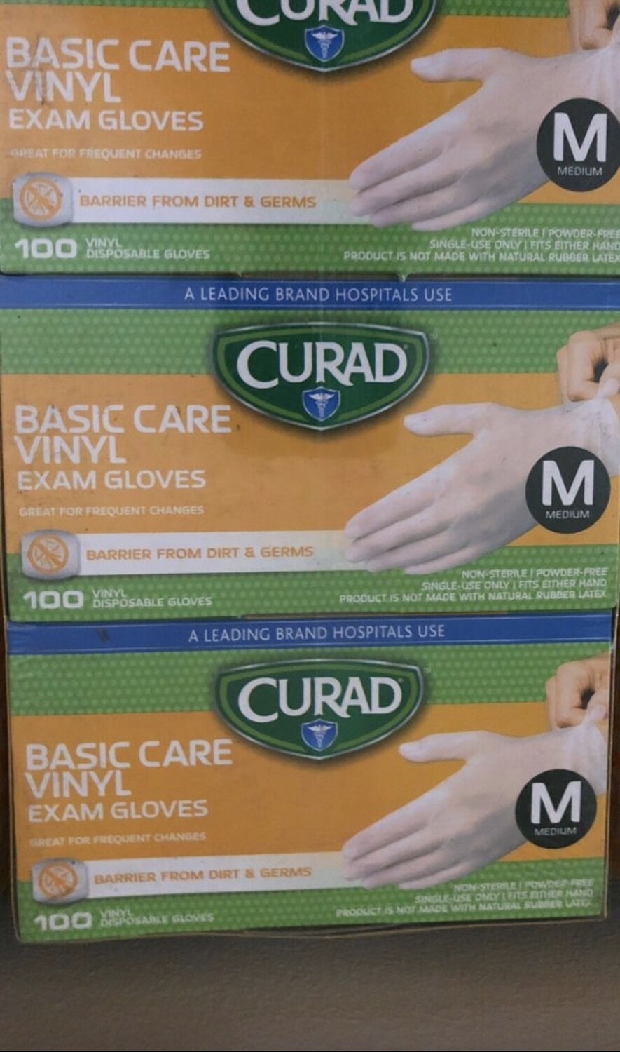 Curad Exam Glove, 100pc