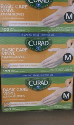 Curad Exam Glove, 100pc