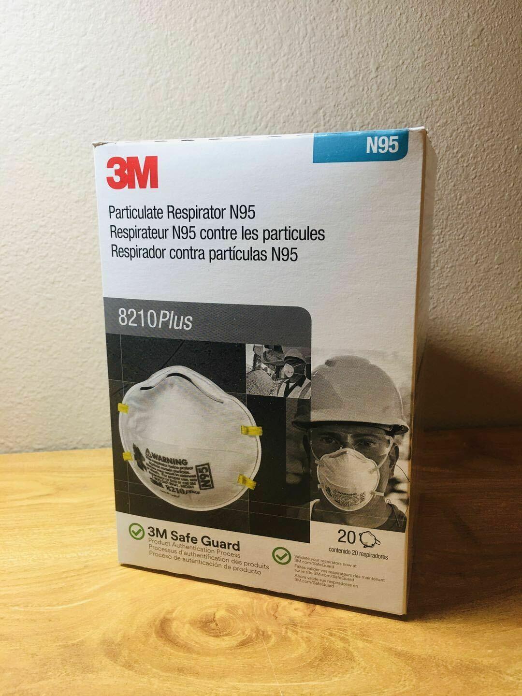 3M 8210 Plus, 160pc/carton