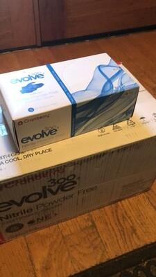 CRANBERRY EVOLVE NITRILE POWDER FREE 300pc/box